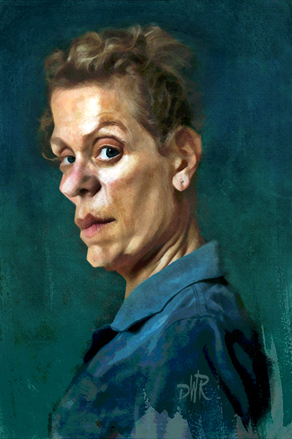 Frances Mcdormand by wooden-horse