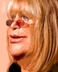 Penny Marshall by wooden-horse