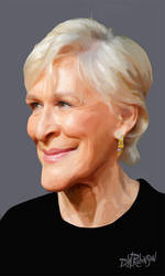 Glenn Close by wooden-horse