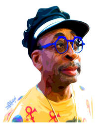 Spike Lee by wooden-horse