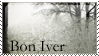 Bon Iver stamp by demonkitty0