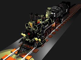 BTTF Time Train WIP 4 by SEGLDRAWS