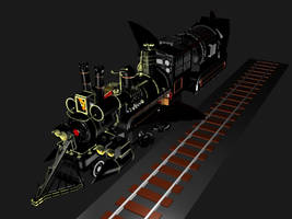 Bttf Time train hover mode 2 by SEGLDRAWS