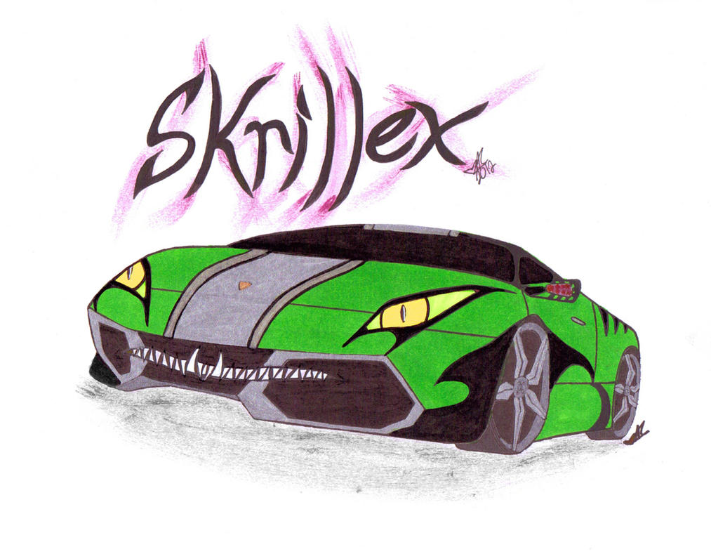 Skrillex - Monster Car by Lady-Autobot17