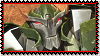 Skyquake grin Stamp by Lady-Autobot17