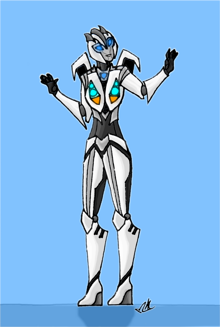 NEW TFA OC Autobot Silvershifter design by Lady-Autobot17