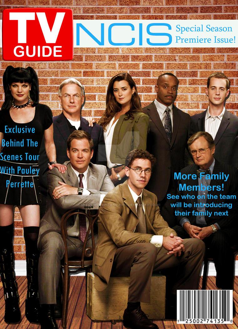 NCIS TV Guide cover by shadowlovinfanbunny