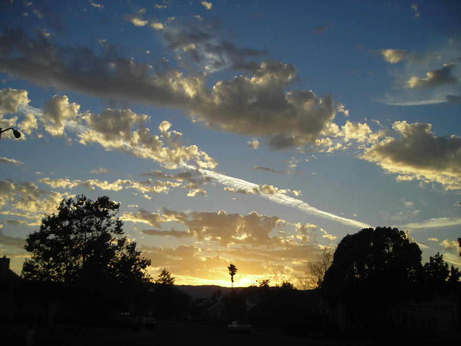 Sunset over vacaville by wallsk8r on deviantart for Vacaville weather