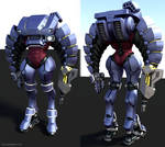 Mech armor suit wip
