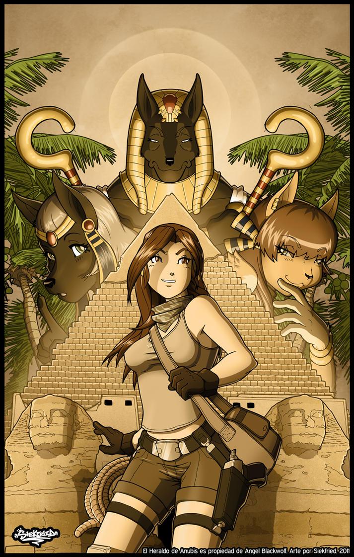 El Heraldo de Anubis Portada by siekfried