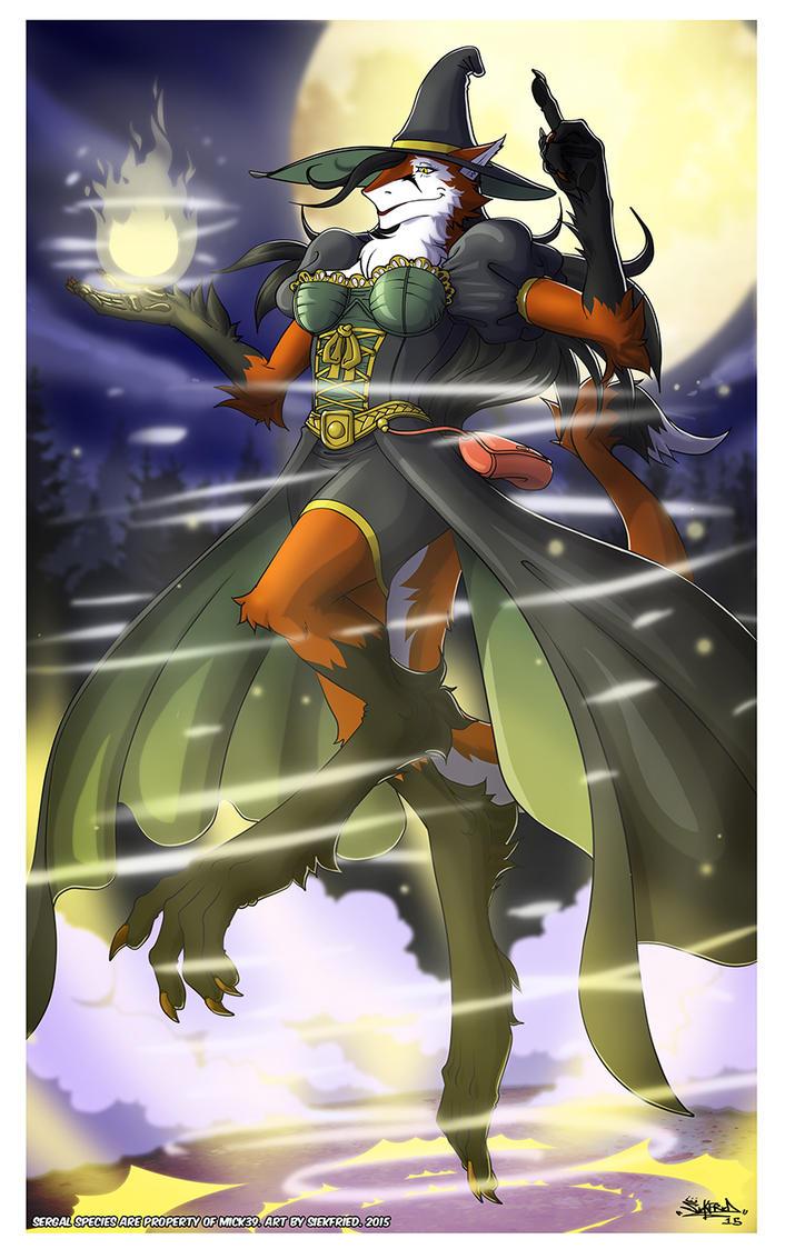 Sergal Witch by siekfried