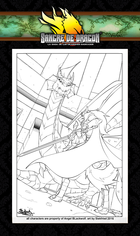 22 illustration Dragon's Blood by siekfried