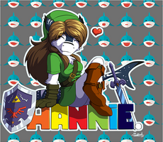 Hannie badge
