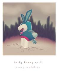 daily bunny II by jazzrail