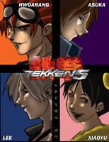Tekken 5 Pinup by Shin-Kensou