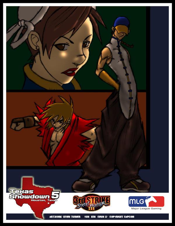 TS5 3rd Strike Poster by Shin-Kensou