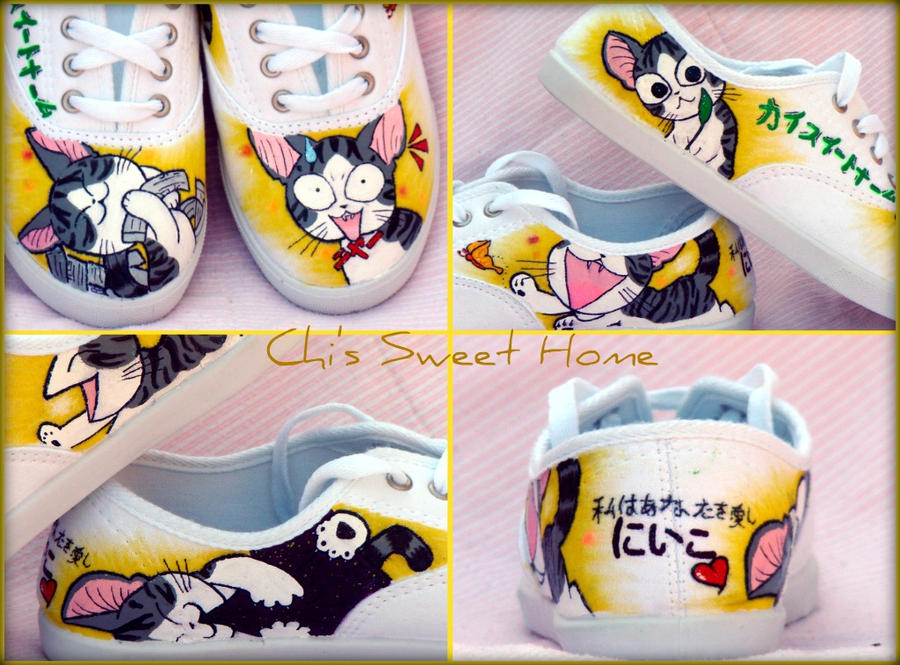 Chi's Sweet Home Shoes by ChumpShoes