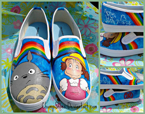 Totoro Shoes for Meghan