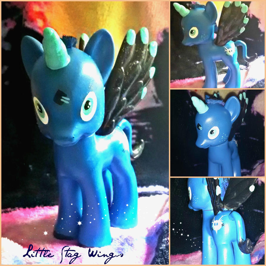 Little Stag Wings MLP repaint by ChumpShoes