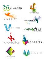 vivacity logo study by Dozign