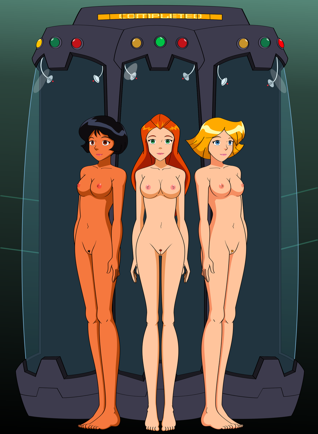 from Jacob naked totally spies desktop
