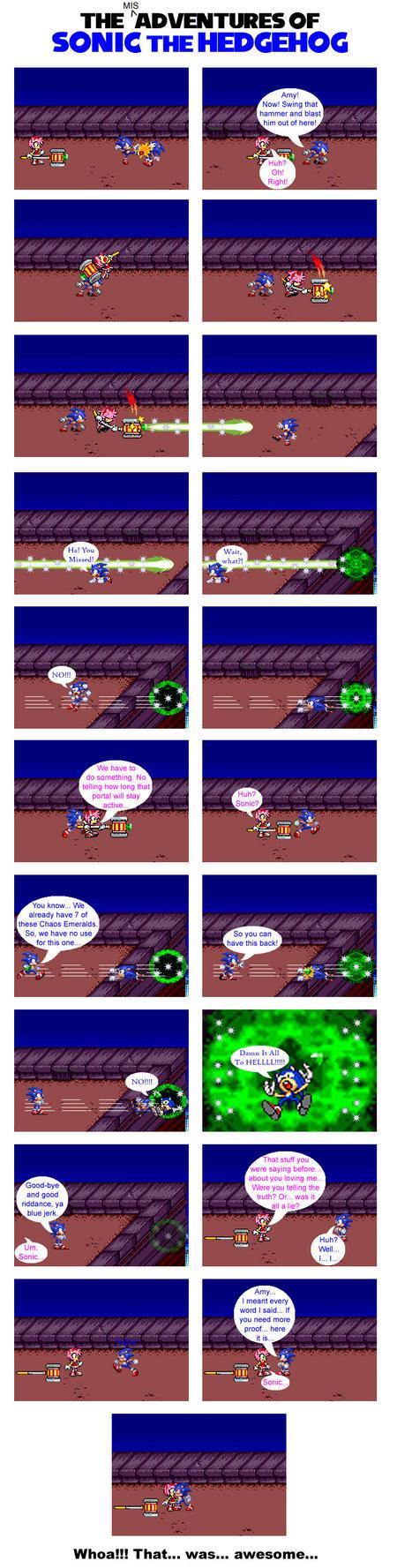 Sonic's Double Trouble - 211 by FallenAngelCam7