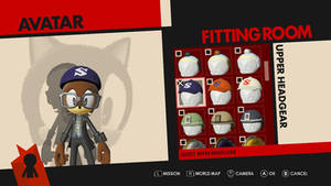 My Sonic Forces Avatar (without headset)