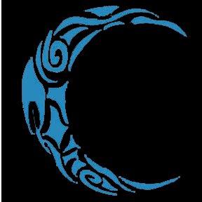 Tribal Moon by ChildofthyNight