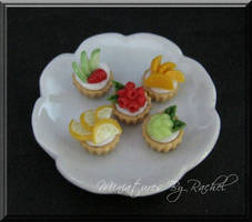 Mini-Fruity Cupcake by ToothFairyMiniatures