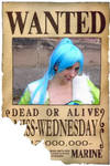 One Piece - Wanted 'Miss Wednesday'
