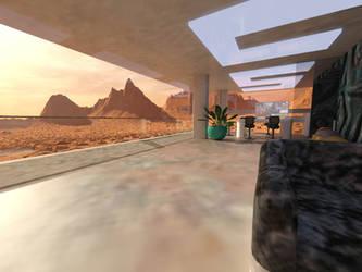Mars Suburbs by esemwy