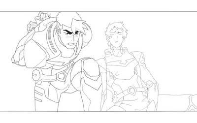 Shiro and Lance