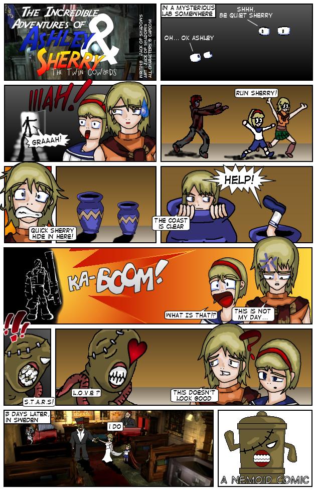 Resident Evil Comic: AandS no1 by Jack-of-Shadows on ... Aands