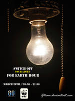 Earth hour poster3 by G-Team