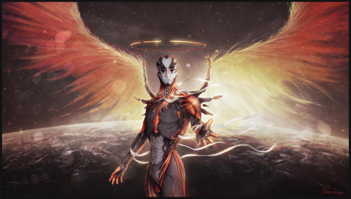 Space Angel 'Arael' by SUNSHINE1617
