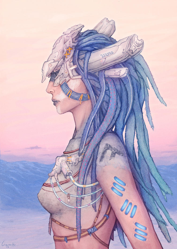 Horizon Zero Dawn: Banuk Shaman by SUNSHINE1617