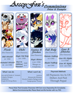Commission Prices (OUTDATED)