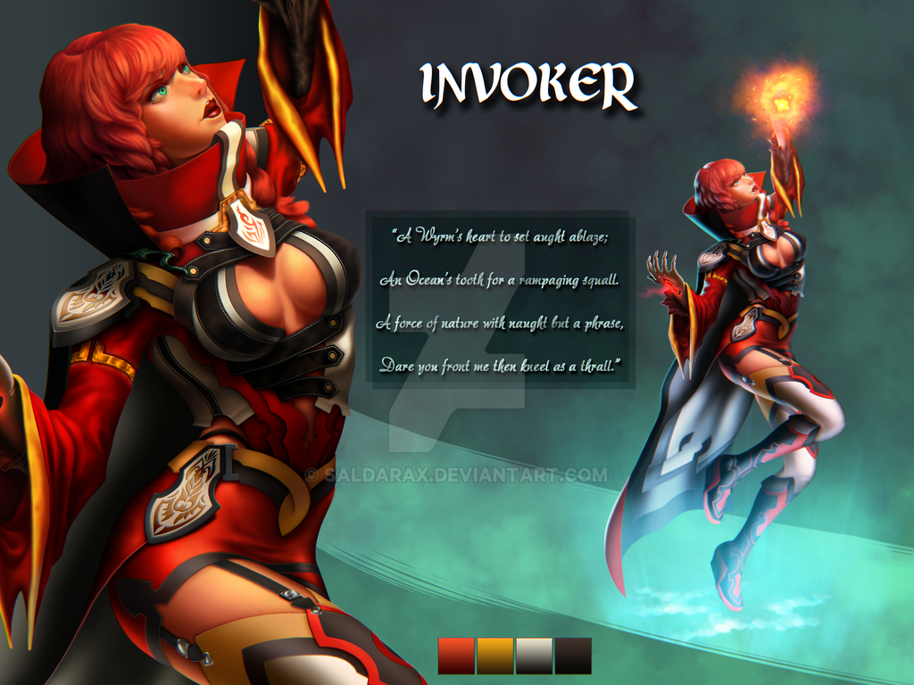 Character Design - Invoker by Saldarax