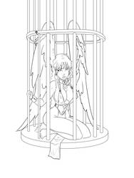Caged Bird Naia by Sekikumo