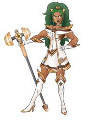 Melyra, aka Star Scout Cinnamon Swirl by Sekikumo