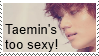 Sexy Taemin Stamp by Ebony-Rose13