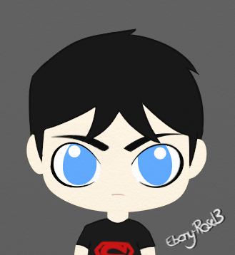 Superboy Chibi by Ebony-Rose13