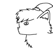 Just A Simple Christmas Avatar Lineart