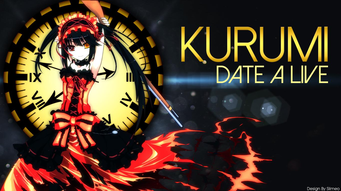 Kurumi Date A Live Wallpaper By Siimeo On Deviantart