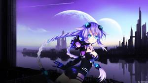 Neptunia - Choujigen game Neptune Wallpaper