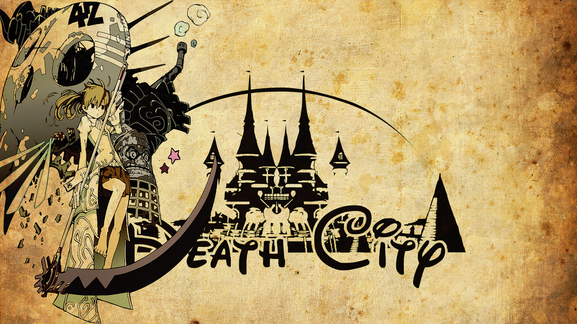 death city soul eater wallpaper by siimeo on deviantart