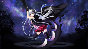 The witch's scythe - Anime Wallpaper