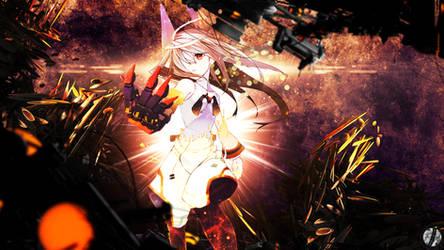 Blinding Light - Infinite Stratos Wallpaper by Siimeo