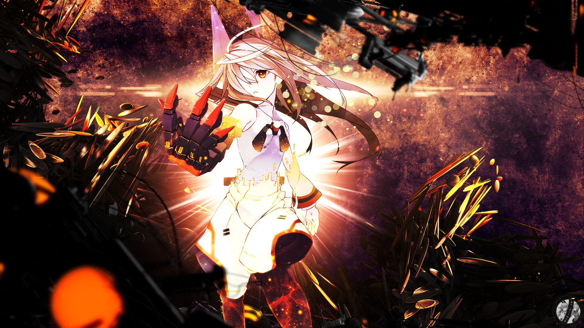 Blinding Light - Infinite Stratos Wallpaper by Siimeo on ...