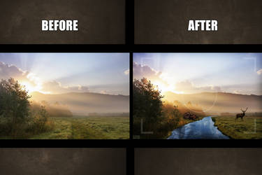Before - After   Montage by Siimeo